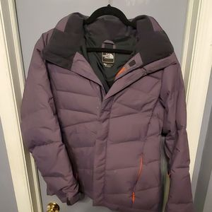 North Face Hooded Winter Jacket